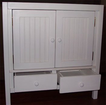 Shaker Style Bathroom Vanity With Two Doors And Two
